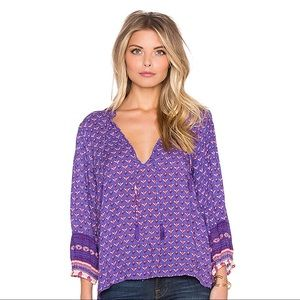 Spell and the Gypsy Sunset Road Blouse